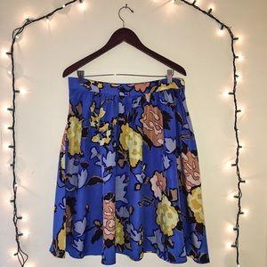 Floral Vivienne Tam Skirt